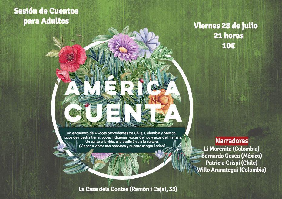 America Cuenta 28 Julio – La Casa de los Cuentos