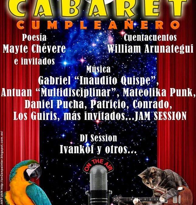 Fiesta Acuariana – Cabaret – 13 Febrero